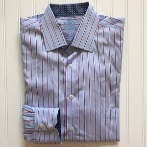 ENGLISH LAUNDRY Long Sleeve Button Down! 17  32/33